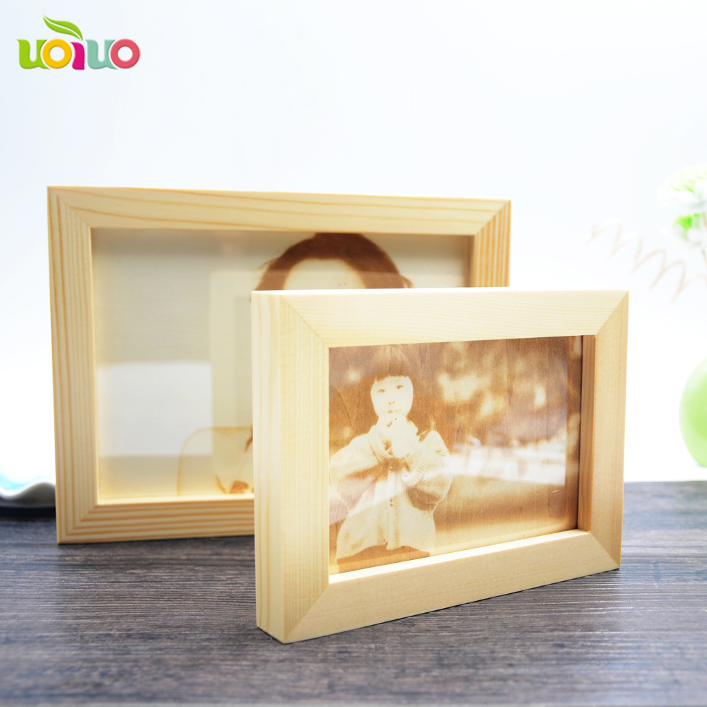 Newlywed Home Decor: New Deign Wooden Picture Frame Photo Frame Simple Wedding