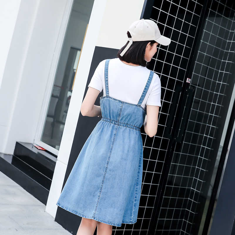 e9e09743ef212 2019 Casual Party Dresses Girl Tunic Beach Dress Clothes Sundresses And  Denim Jean Sundress Women Christmas Female