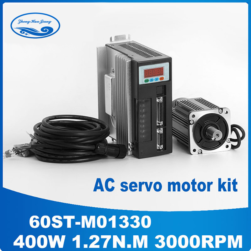 400w servo motor set 60st m01330 ac servo drive and motor for Servo motors and drives