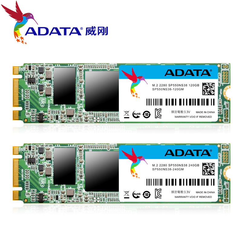 ADATA NANO SSD SP550 240GB M.2 2280 NGFF Solid State Drive Solid HD Hard Drive Disk M2 2280 120GB hdd disk For Laptop Desktop adata ssd 128gb 2 5 sata3 6gb s hard drive solid state drive disk ssd 120gb for laptop desktop computer free shipping