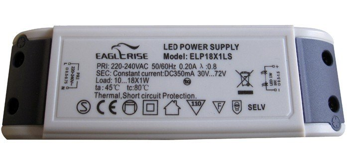 Free shipping CE,SEMKO,SELV approved LED Driver/LED Power