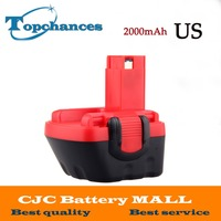 Newest US High Quality 12V 2000mAh Ni CD Battery For Bosch GSR 12 VE 2 2000mAH