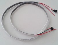 DC5V 144pixels/M WS2812B LED Strip RGB silicone tube Waterproof IP67 4m/Roll individually addressable pixels strip