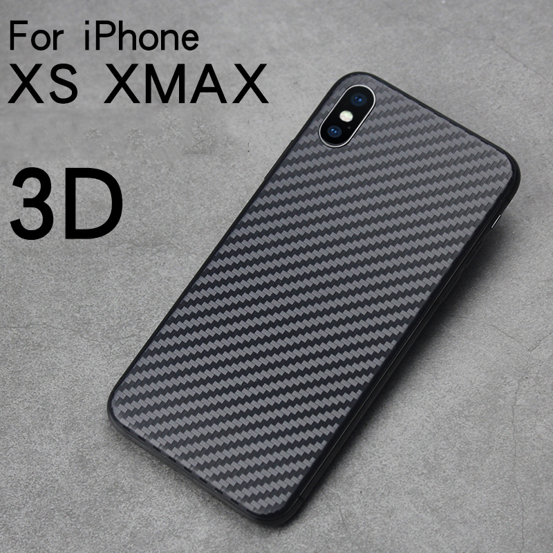 5PS Full Cover Back Film For iPhoneX 8 7 PLUS Carbon Fiber Screen Protector For iPhone11 ProMax XS MAX XR Anti-Scratch Back Film(China)