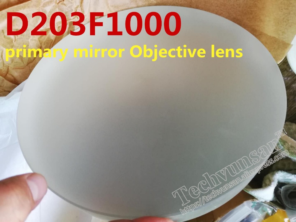 Astronomical telescope D203F1000 primary mirror Objective lens Newtonian reflection Deep space photography D203 star observation цена
