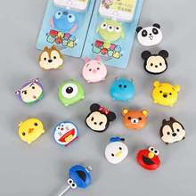 Wholesale Cartoon Protector Cable Cord Saver Cover For iPhone 8 Plus 4 4S 5 5S 6 6S 7 X Xs Max XR For Funda iPhone 7 Plus case fffas cartoon usb cable protector phone line winder cover case wire organizer clip holder for iphone 4 5 5s 6 6s 7 7s 8 x plus