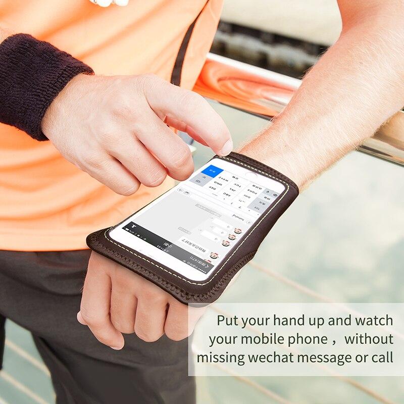 Baseus armband telefon fall für iPhone 7 6s sport armband handy tasche Läuft armband sport schutz Fall Für Apple iPhone
