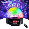 Сценическая лампа светодиодный диско-свет лазер 9 цветов 21 Режим DMX DJ звук Вечерние огни Рождественский проектор звуковые огни Светодиодный...