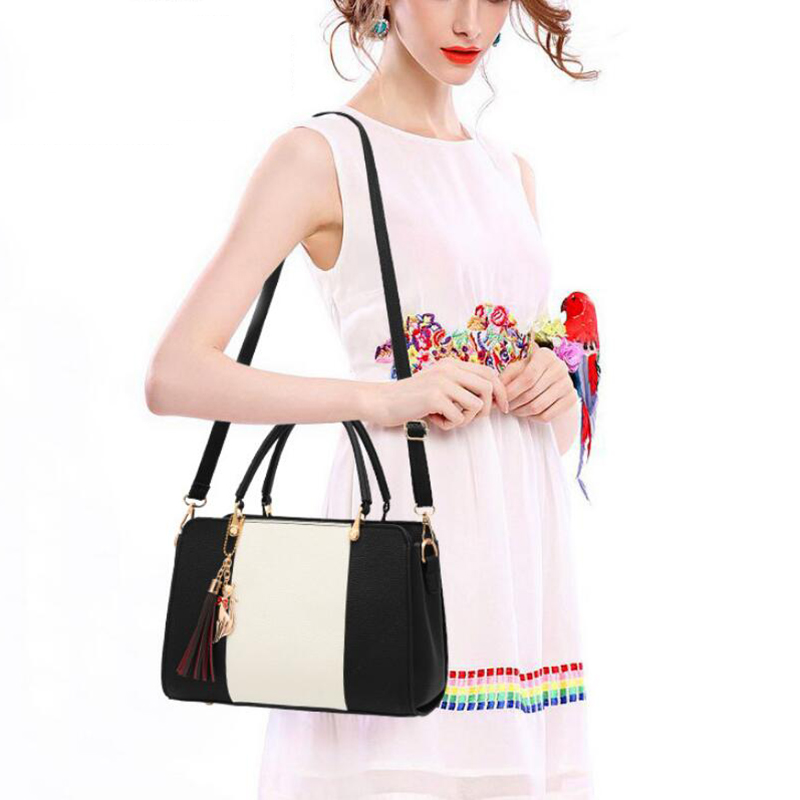 Promotion of new women's bags,limited purchase, work purse women crossbody shoulder handbags Rubber red 27×12×19cm 29