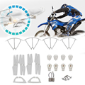 7PCs Motor Base Gear Spare Parts for MJX X400 RC Quadcopter Accessories Kit