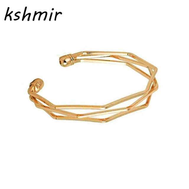 product gold made four bracelet s tone bangles filigree gf ladies leaf clover bangle hand
