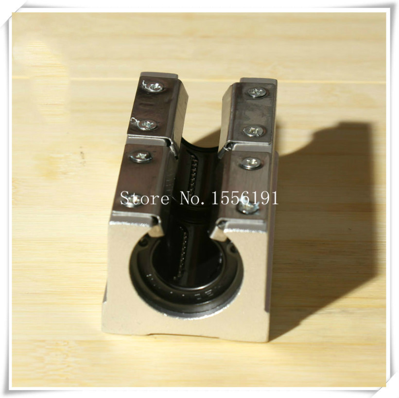 где купить 1PCS SBR35L-PP-UU Slide Linear Bearings,long Type with platen,Slide axis,SBR35LUU, Linear motion ball silide units,CNC parts дешево