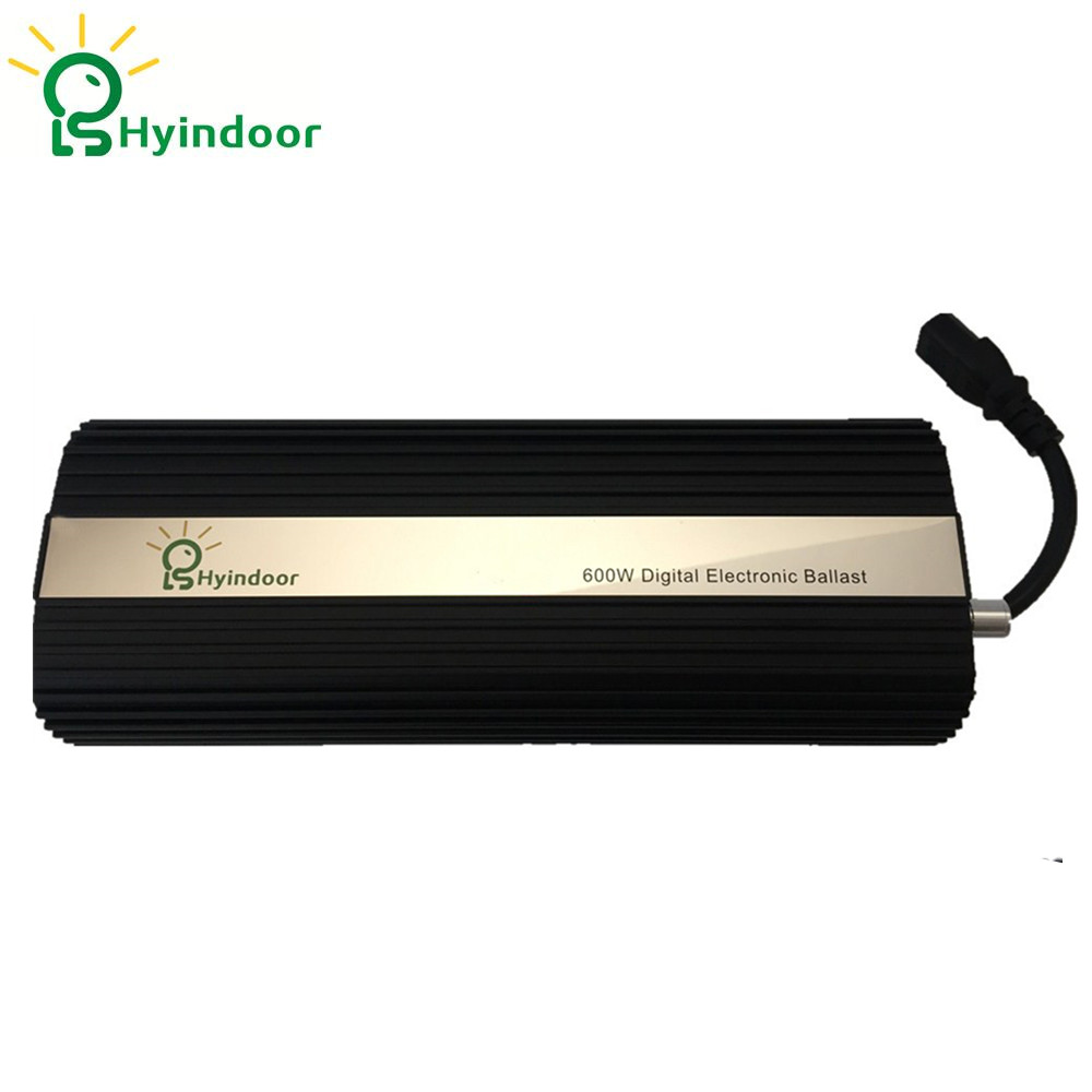 Hydroponic USA PLUG MH/HPS Ballasts 600w Dimmable Electronic Ballasts for Indoor Garden Grow Lights