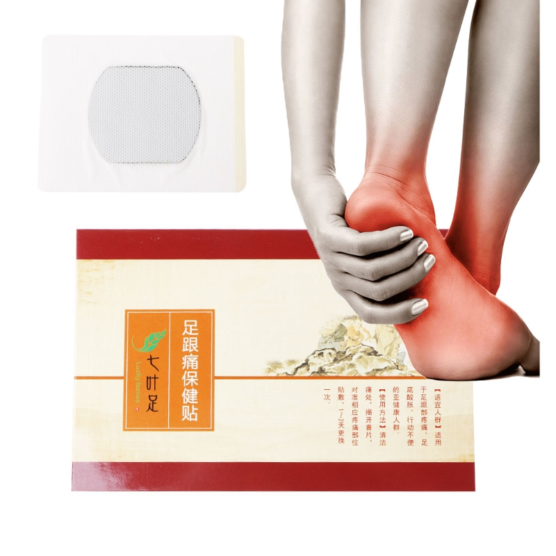 1Pair Heel Spur Pain Relief Patch Relief Patch Foot Care Treatment Plaster New foot care massager health care plaster treatment heel pain stimulate the zb pain relief achilles tendinitis medical plasters