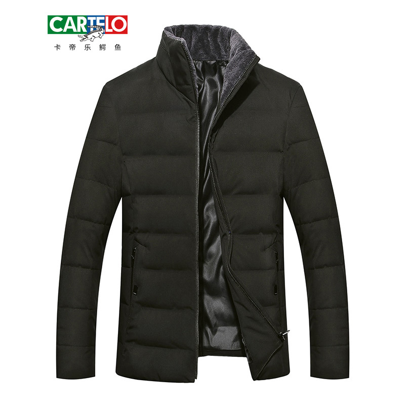 CARTELO 2017 New men's Jackets coats Men Autumn Winter Warm Coat Mens Ultralight Jacket Casual Male Windproof Parka FB17003G03