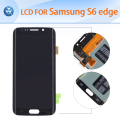 Original LCD for Samsung Galaxy S6 edge G925 curved LCD display touch screen digitizer glass assembly 5.1 inch black white gold
