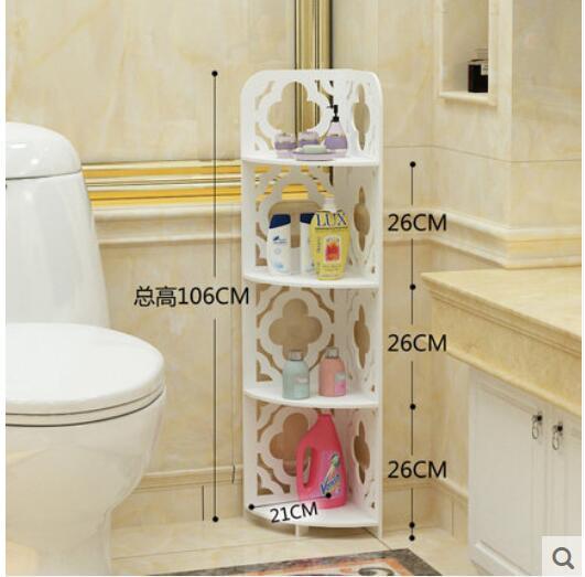 Bathroom Shelf Bathroom Scaffolding Floor Triangle Shelf Toilet Bathroom  Toilet Toilet Storage Shelf