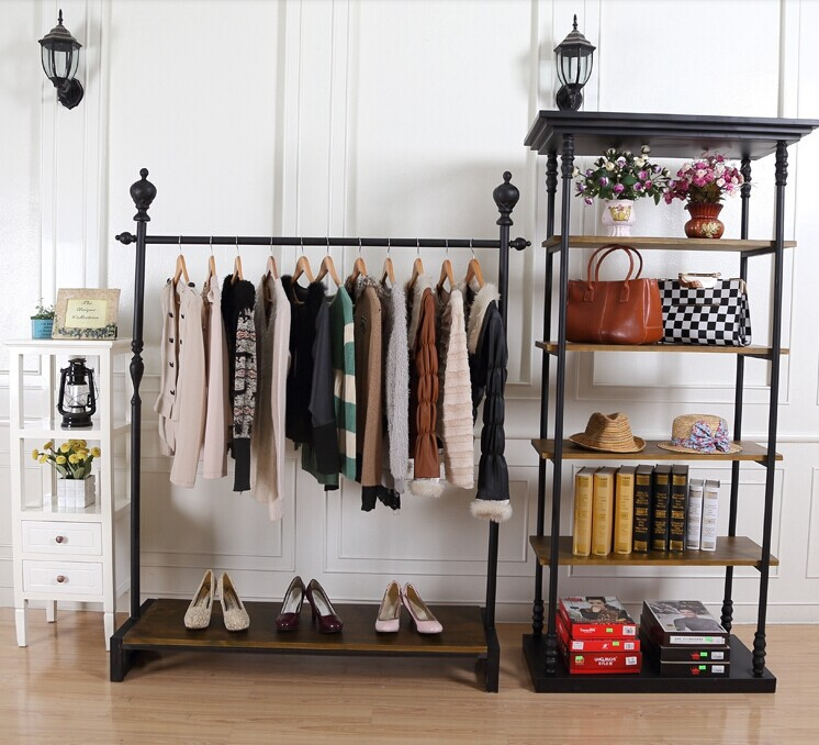 Clothing Rack In Room Ideas