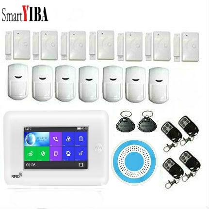 SmartYIBA 3G WiFi Drahtlose Smart Alarm System Sicherheit Home mit Video IP Kamera Anti Diebstahl System mit PIR sensor APP Control - 2