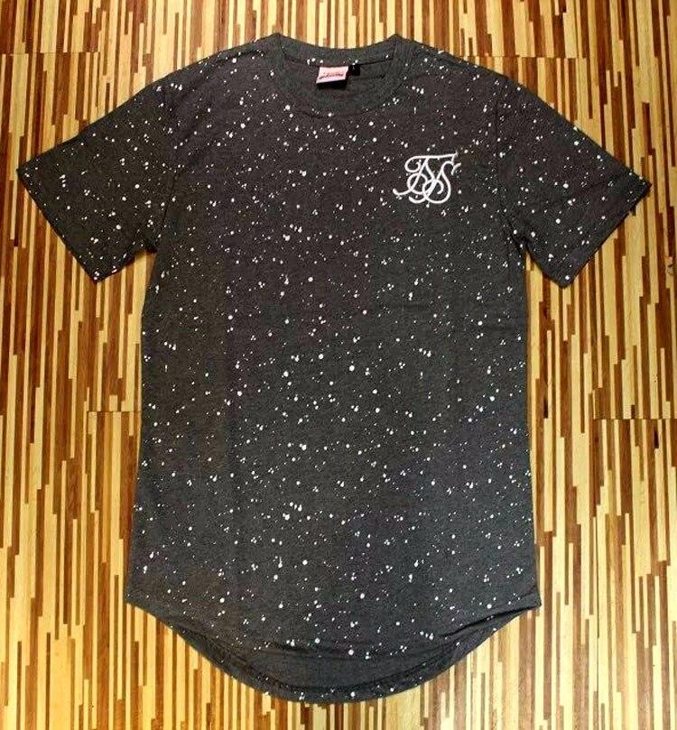 2017 Men Fashion summer splash ink T shirt Cotton Swag Mens T shirts skateboard T shirt solid Hip Hop T shirt Men 39 s Tees Tops in T Shirts from Men 39 s Clothing