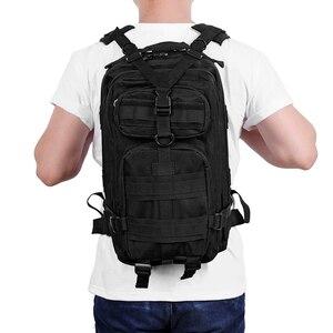 Image 3 - 20 30l das mulheres dos homens militar tático mochila trekking esporte viagem mochilas sacos tático acampamento caminhadas escalada sacos