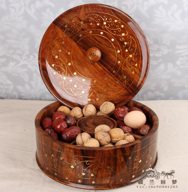 Twarde drewno kreatywne moda cukierki danie suszone owoce suszone - Wystrój domu - Zdjęcie 1