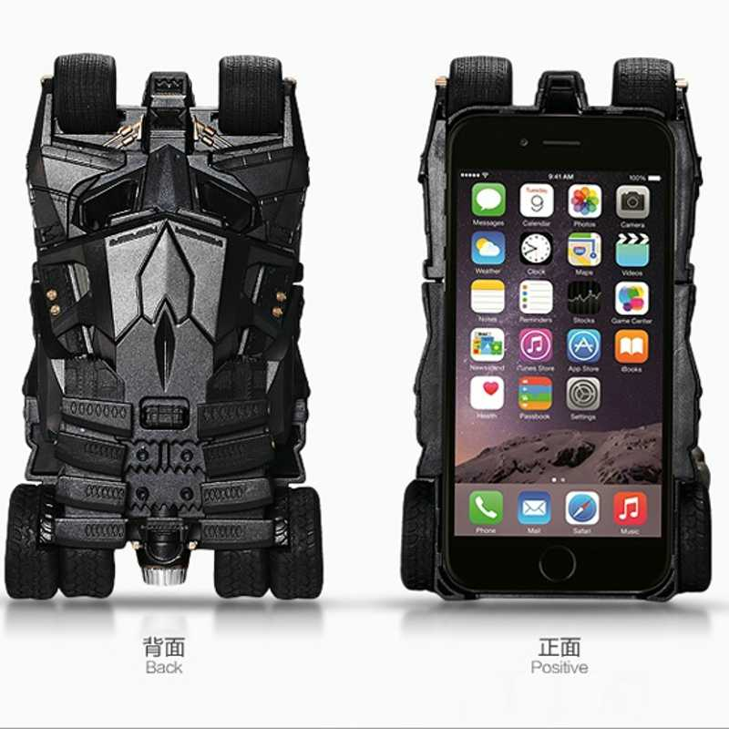 info for 51c05 085dd Newest Fashion Batmobile Crazy Case For Apple6 6S 7 8 plus Batman Projector  Light Free Toughened Glass Film For iphone 6 6S