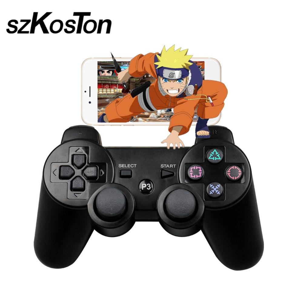 Nuevo Bluetooth Wireless GamePad Controller para Sony PS3 juego Control remoto para PlayStation shock DualShock joystick
