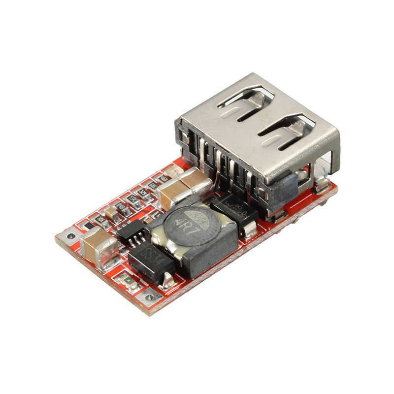 1PC DC-DC Converter 6-24V 12V/24V to 5V 3A Car USB Charger For Phone Module DIY Using The Latest USB Identification Circuit