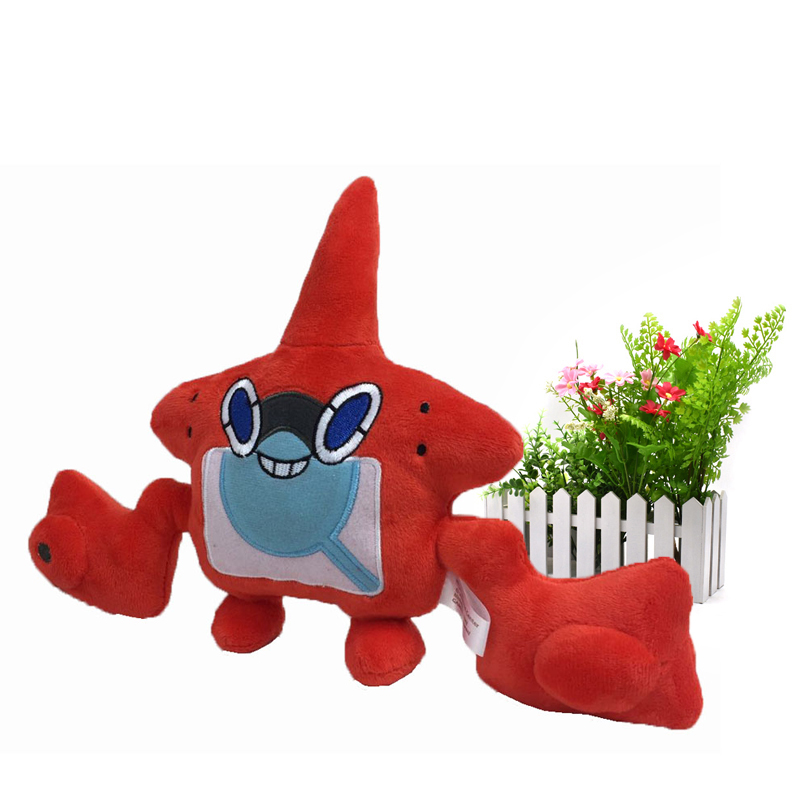 <font><b>20</b></font> <font><b>cm</b></font> Anime Rotom <font><b>Peluche</b></font> Stuffed Plush Cartoon Dolls Hot Christmas Gift Baby Toys For Children image
