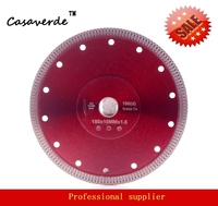 DC SXSB05 Super Thin 8 Inch 200mm Diamond Porcelain Tile Cutting Blade For Ceramic And Porcelain