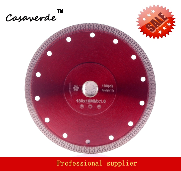 Dc Sxsb05 Super Thin 7 Inch 180mm Diamond Porcelain Tile Cutting Blade For Ceramic And