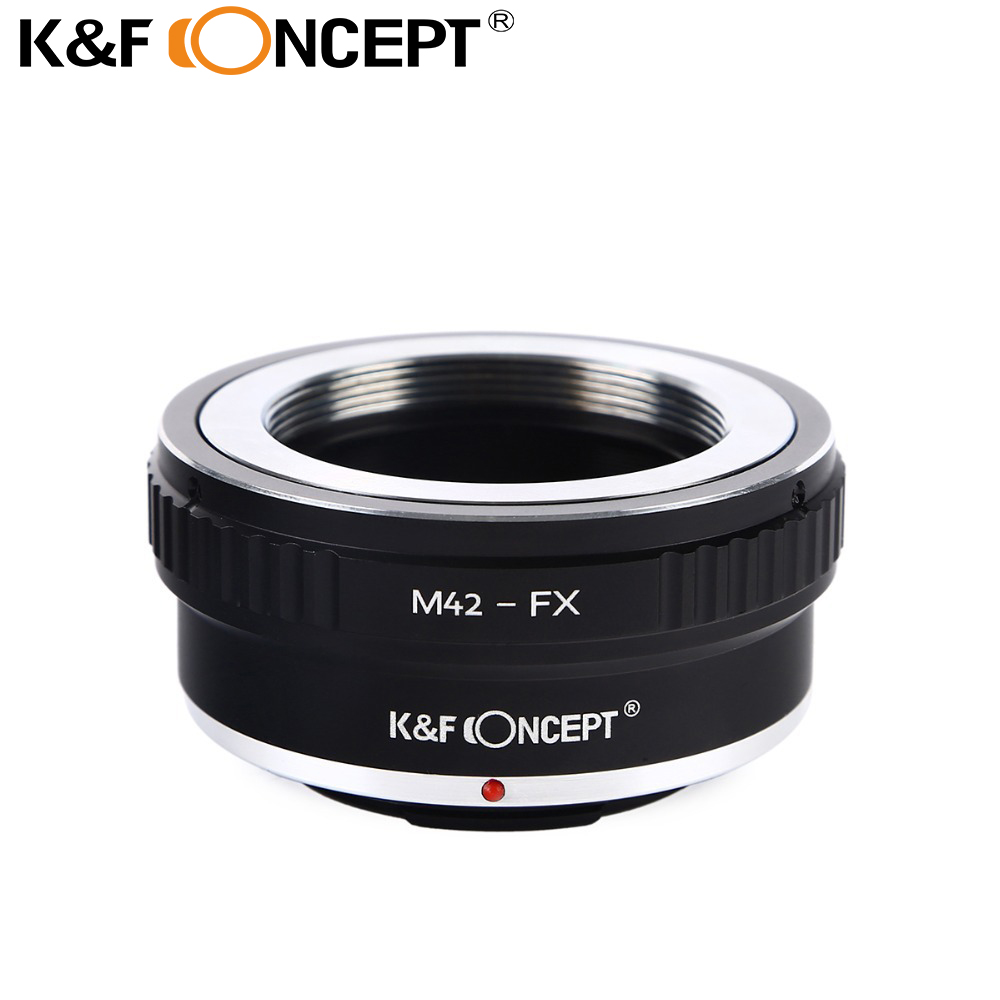 K&F CONCEPT Lens Adapter Ring M42-FX M42 M 42 Lens to for Fujifilm X Mount Fuji X-Pro1 X-M1 X-E1 X-E2 Adapter Ring free shipping