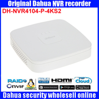 Original Egnlish Version Dahua DHI NVR4104 P 4KS2 IP Network Video Recorders With Up 4ch Full