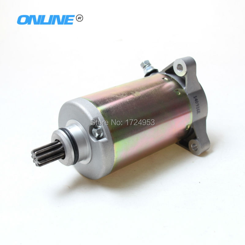 Zongshen 4 valve NC250 Water Cooled 250cc Engine Electric Starter Motor ZS177mm Engine parts