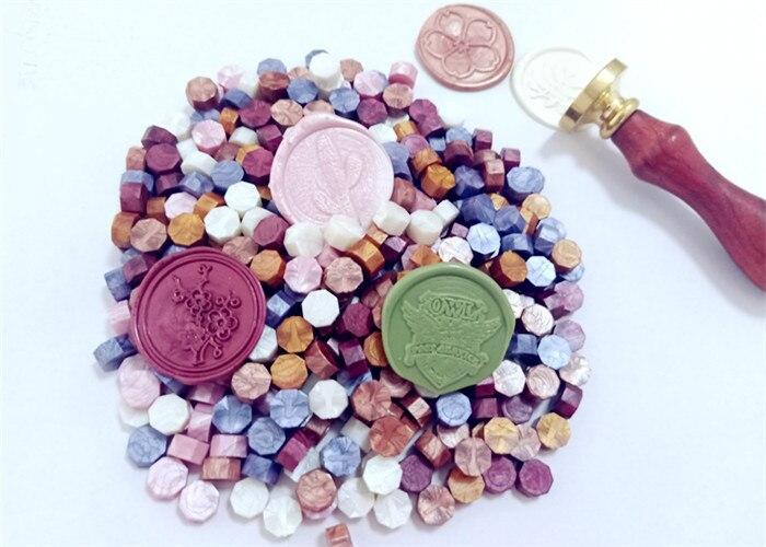 1000pecs 24 cores novo selo do selo da cera selo da cera de selagem para retro