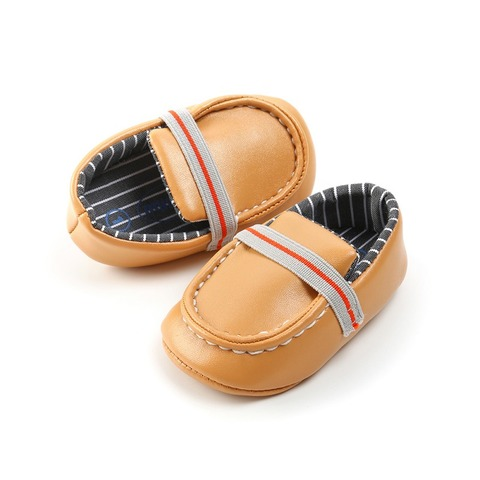 Baby The First Walker Shoes Baby Boy Shoes Newborn Casual PU Peas Shoes Soft Bottom Lazy Toddler Baby Boy Girl Shoes Multan