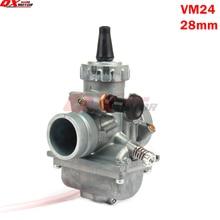 Mikuni VM24 Carburetor PE28 28mm Carb For 125 140 150 160cc Dirt Pit Bike ATVs motorcycle Performance UP