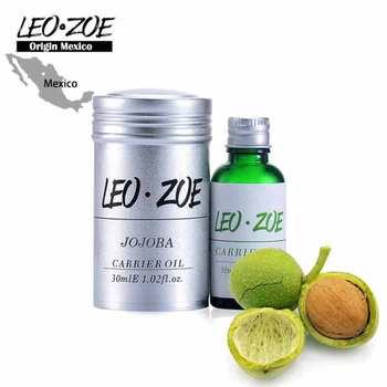 Well-known brand LEOZOE pure jojoba oil Certificate of origin Mexico Authentication Jojoba essential oil 30ML фото