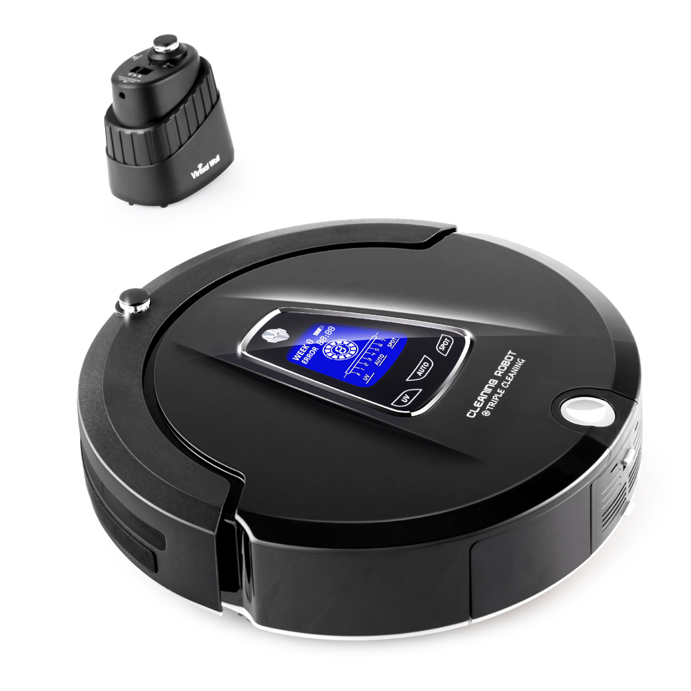 buy most advanced robot vacuum cleaner blockerself charge from - Robotic Vacuum Cleaner