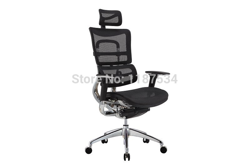 JNS801YK Mesh office chair executive swivel chair with headrest office chair 240337 ergonomic chair quality pu wheel household office chair computer chair 3d thick cushion high breathable mesh