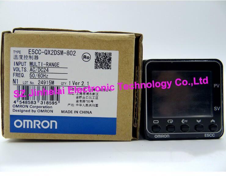100% New and original E5CC-QX2DSM-802 OMRON  AC/DC24 Temperature controller [zob] 100% new original omron omron proximity switch e2e x10d1 n 2m