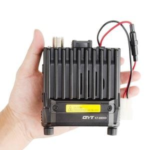 Image 3 - QYT KT 8900D 25W Montato Sul Veicolo A Due Vie Radio Aggiornamento KT 8900 Mini Mobile Radio con Quad Band LCD di Grandi Dimensioni