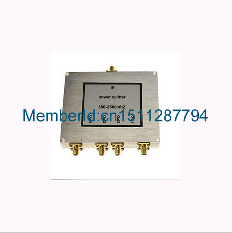 2015 Top Brand signal booster 4- way SMA Splitter, 380 ~ 2500MHz 4 port SMA Power Splitter, mobile phone booster splitter 2015 top brand signal booster 4 way sma splitter 380 2500mhz 4 port sma power splitter mobile phone booster splitter