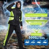 Бесплатная доставка 1 компл. Мотоцикл мотокроссу одежда дождевик; непромокаемые штаны костюм плащ куртка и плащ брюки для девочек