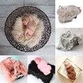 Adereços Fotografia de recém-nascidos Adereços Fotografia Fundo Cobertor da Pele Do Falso da Pele Do Bebê Fotografia Prop Fotografia De Bebe