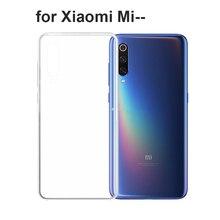 TPU Soft Case For Xiaomi Mi 9 SE 8 Lite 6 Transparent Silicone Phone Redmi Note 7 5 Pro Anit-Skid
