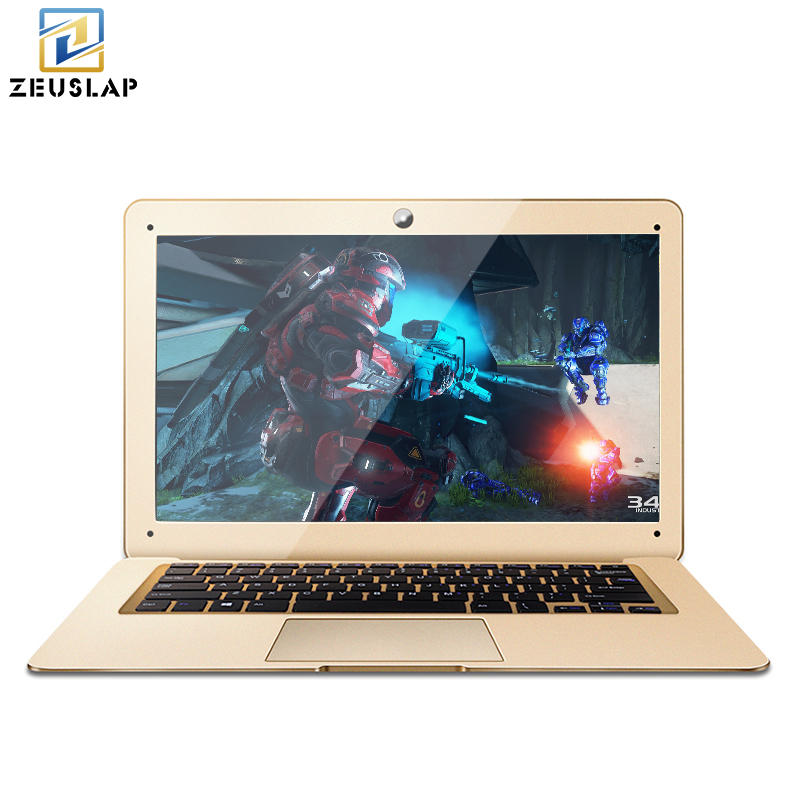 ZEUSLAP A8 8GB Ram 120GB SSD Windows 7 10 System Ultrathin Intel Quad Core Fast Boot