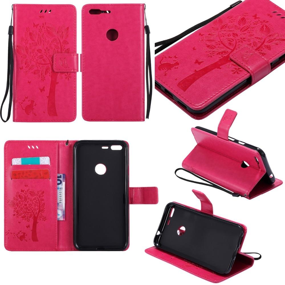 Wallet Magnet Flip Cover Leather Case Google Pixel Case For HTC Google Pixel XL Coque Phone Shell 3D Pattern Tree Cat Cases
