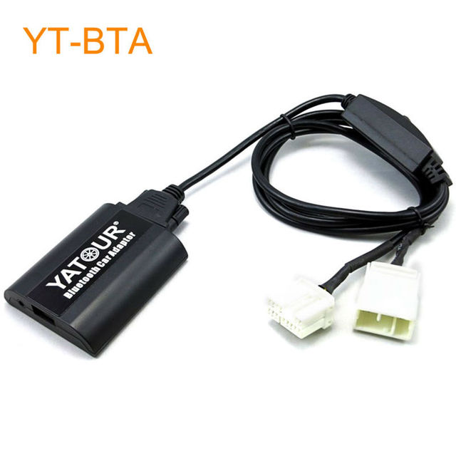 Yatour Car Bluetooth Adapter Kit Work with Factory CD Changer for Honda Accord Civic CRV Element Odyssey Pilot Fit S2000 Legend